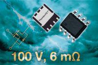 Новые мощные MOSFET по технологии TrenchFET с поддержкой ThunderFET