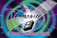 Новые 20-В сдвоенные p-канальные MOSFET по технологии TrenchFET Gen III