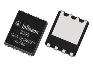 Новые транзисторы OptiMOS от Infineon с рабочим напряжением 40 и 60 В