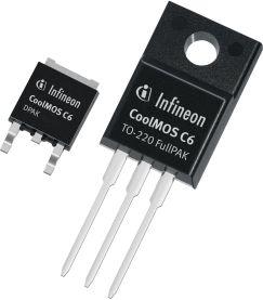 Новые транзисторы CoolMOS C6/E6 с рабочим напряжением 600 и 650 В