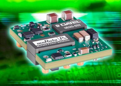 Компактные DC/DC-преобразователи UEI мощностью 25 Вт