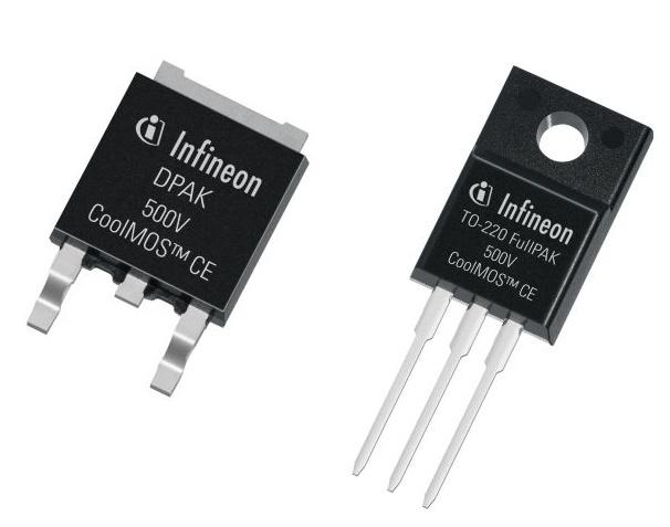 Новые MOSFET CoolMOS CE с рабочим напряжением 500 В