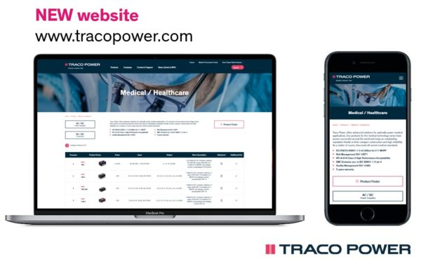 Компания TRACO POWER обновила сайт