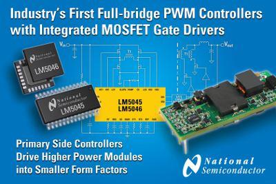 National Semiconductor: полные мостовые ШИМ-контроллеры с интегрированными драйверами затвора MOSFET-транзисторов