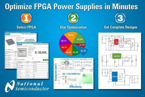 National Semiconductor: новый инструмент WEBENCH FPGA Power Architect