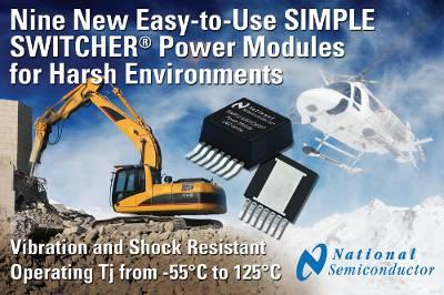National Semiconductor: девять новых продуктов в семействе Simple Switcher