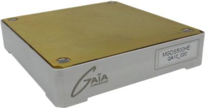 Высоконадежные DC/DC-преобразователи серии MGDM-500 GAIA Converter мощностью 500 Вт