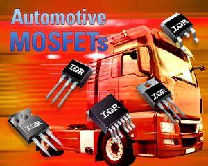Расширение линейки автомобильных MOSFET