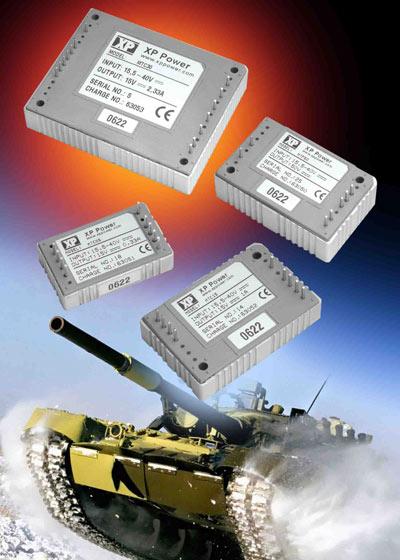 Серия MTC DC/DC преобразователей напряжения XP Power