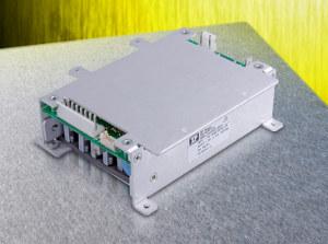 100-ваттные источники питания AC/DC с кондуктивным теплоотводом для жестких условий эксплуатации