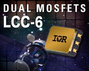 Радиационно-стойкие сдвоенные силовые транзисторы MOSFET в компактном герметичном корпусе LCC-6 для поверхностного монтажа