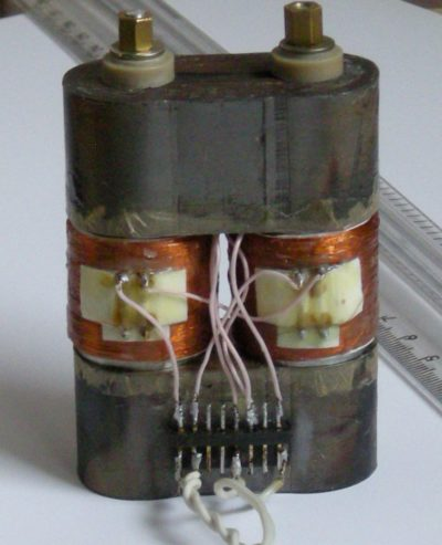 Фотография рабочего макета трансформатора MTS