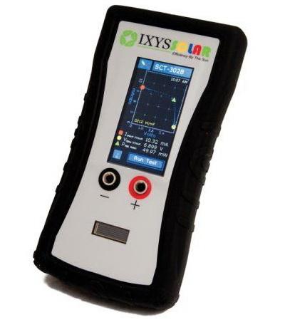 Внешний вид портативного анализатора солнечных батарей SIV_3028