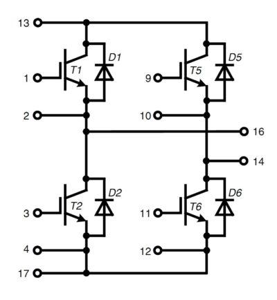 Структура модуля MIXA61H1200ED