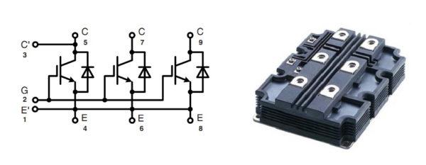 Структура и внешний вид модуля MIO 600_65E11
