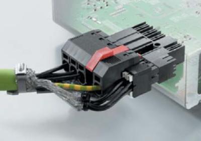Подключение двигателя гибридным разъемом BV/SV 7.62HP