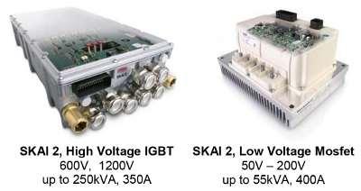 Второе поколение компактного модуль привода электротранспорта
