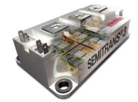 Новейшее поколение низкоиндуктивных 1200-В модулей SEMITRANS IGBT