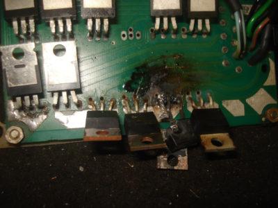 Защита силового транзистора. Перегрев