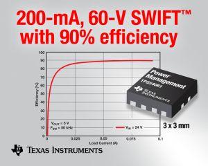 Новый высокоэффективный миниатюрный DC/DC-преобразователь от Texas Instruments