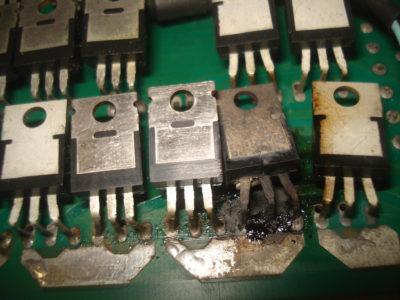 Защита силового транзистора
