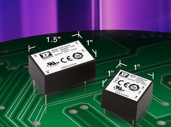 Одноканальные источники питания AC/DC XP power ECEхх
